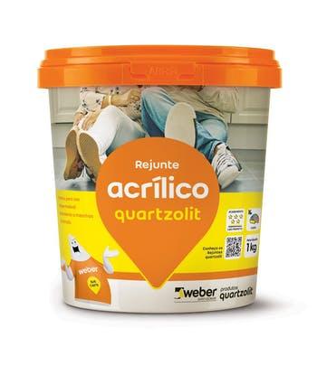 Rejunte Acrílico Marfim 1kg - Quartzolit - 0286.00023.0006CX - Unitário
