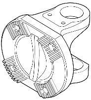 Flange - Spicer - 5004016 - Par