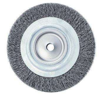 Escova Circular 150x25mm Fio 0,40mm 6000Rpm - Abrasfer - T.7000-150X25 - Unitário
