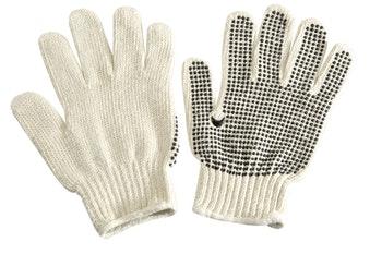 Luva tricotada de algodão pigmentada - Norton - 66623301356 - Unitário