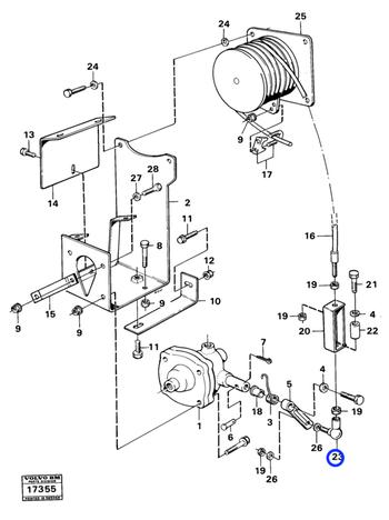 Rótula Angular - Volvo CE - 959080 - Unitário