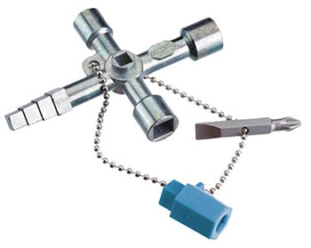 Chave Universal para Caixa de Distribuição Elétrica - Gedore - 012.981 45 S - Unitário