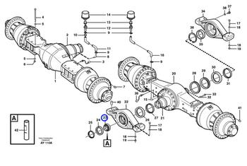 Rolamento de Rolos - Volvo CE - 11703777 - Unitário