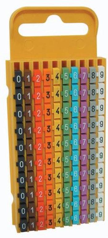 Identificador para Fios 4,0-6,0mm² - HellermannTyton - 1.10.409521 - Unitário