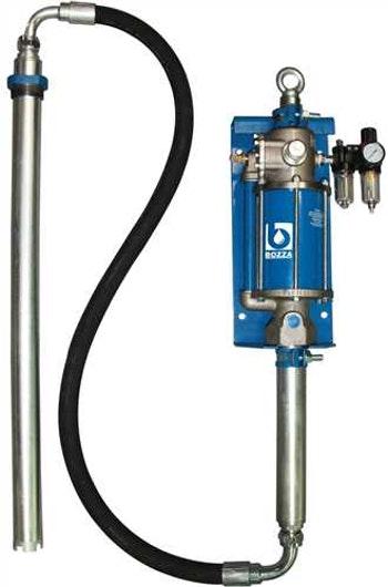 Bomba Óleo Pneumática 13021-P + Adaptável em Parede - Bozza - 13021-P - Unitário