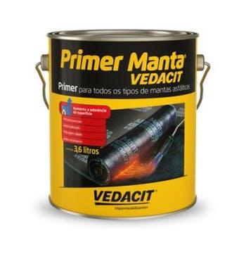Primer para Manta Asfáltica Preto - Vedacit - 116452 - Unitário