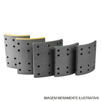 LF 0111 LONA DE FREIO LEVE - Bosch - 0986BB1013 - Par