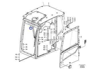 Decalque - Volvo CE - 14386999 - Unitário