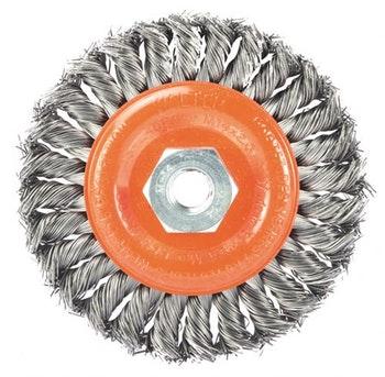Escova Circular Aço Trançado 115x6,5mm - Walter - 13-L 452 - Unitário