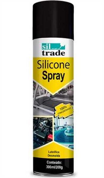 Borracha Silicone Spray Sil Trade 300ml - Sil Trade - SIL - Unitário