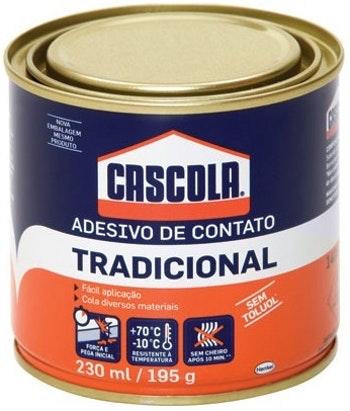 Adesivo Contato Cascola 195g - Alba - 1406653 - Unitário