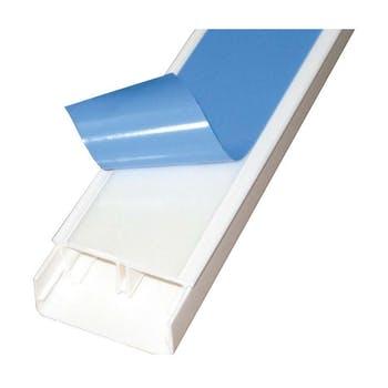 Canaleta com Divisória e Adesivo Sistema X Branco 1,2 x 2cm 2m - Legrand - 30801adx - Unitário