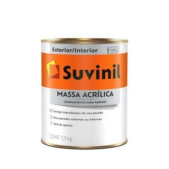 Massa Acrílica 1,3kg - Suvinil - 53446404 - Unitário