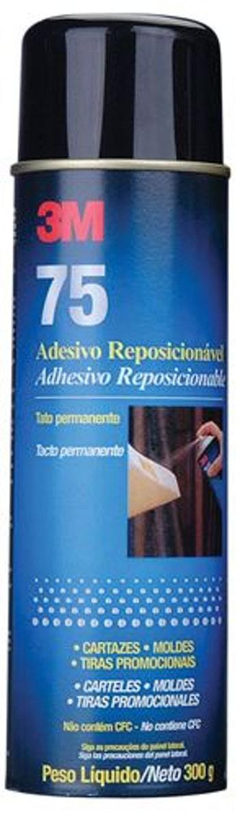 Adesivo Spray 75 H0001940701 300g - 3M - H0001940701 - Unitário