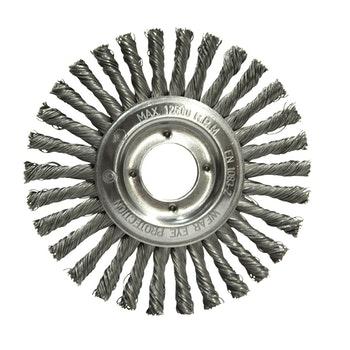 Escova de aço trançada temperada 152,4x6,35mm - Norton - 66623376402 - Unitário