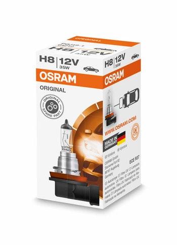 Lâmpada Halogena H8 - Osram - 64212 - Unitário