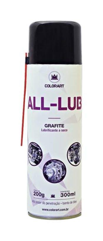 Lubrificante Spray Grafite 300ml - COLORART - 00002275 - Unitário