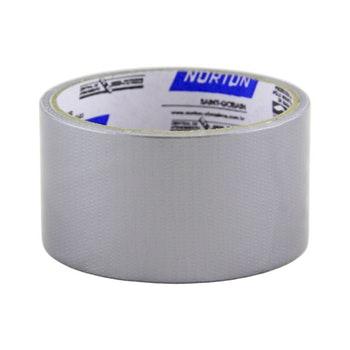 Fita silver tape  prata 48mmx50m - Norton - 66261176745 - Unitário