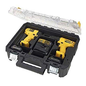 Kit Parafusadeira e Furadeira DCD700 + Parafusadeira de Impacto DCF805 com 2 Baterias 12V