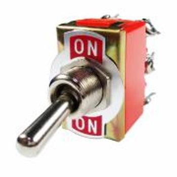 Chave Comutadora de Uso Geral 6 Terminais - 2 Posições On/Off 250W - DNI - DNI 2080 - Unitário