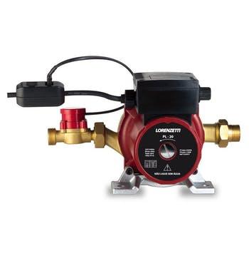 Pressurizador de Água Vermelho/Preto Pl20 (20Mca) 127V - Lorenzetti - 7541015 - Unitário