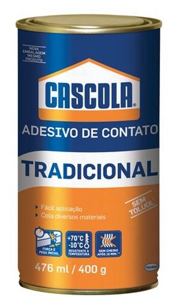 Adesivo Contato Cascola 400g - Alba - 1406655 - Unitário
