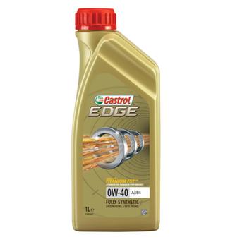 Óleo para Motor Castrol EDGE A3/B4 - 0W40 - Castrol - 3382074 - Unitário