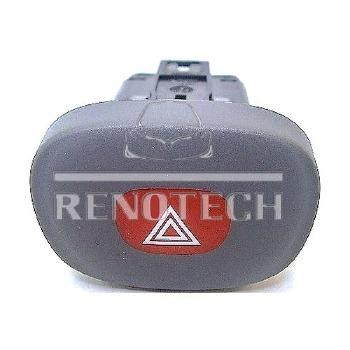 Botão do Pisca Alerta - Renotech - RN 421820 - Unitário