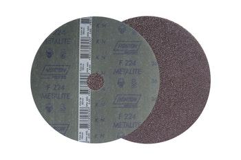 Disco de fibra metalite F224 grão 36 180x22mm - Norton - 66261161002 - Unitário