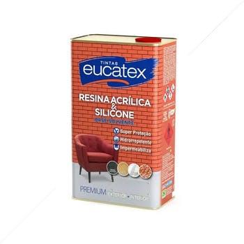 Resina Acrílica Base Solvente 900ml - Eucatex - 4800089.29 - Unitário