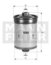 Filtro Blindado do Combustível - Mann-Filter - WK834/1 - Unitário