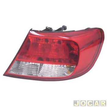 Lanterna Traseira - Original Volkswagen - 5U6945096 - Unitário