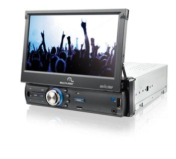 DVD Player Automotivo Slide - Multilaser - P3211 - Unitário