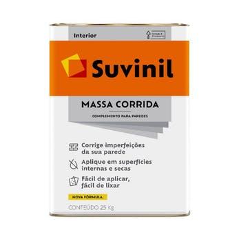 Massa Corrida PVA 25kg - Suvinil - 50614362 - Unitário