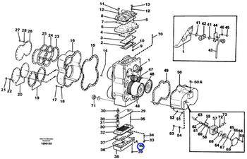 Material para Bujão - Volvo CE - 968215 - Unitário