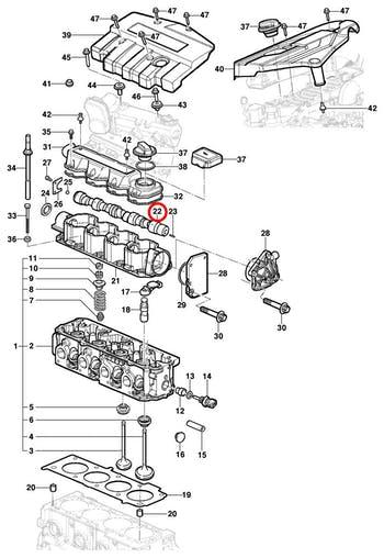 Comando de Válvula - Original Chevrolet - 93338425 - Unitário