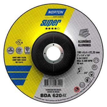 Disco de desbaste BDA 620 180x6,4x22,23mm - Norton - 66252841189 - Unitário