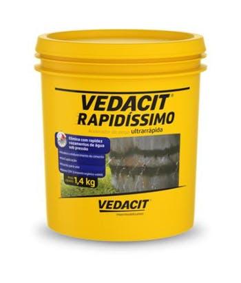Acelerador de Pega Vedacit Rapidíssimo 1,4kg - Vedacit - 121584 - Unitário
