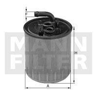 Filtro Blindado do Combustível - Mann-Filter - WK842/13 - Unitário