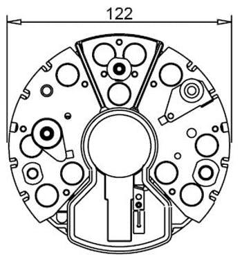 Retificador - Gauss - GA1989 - Unitário