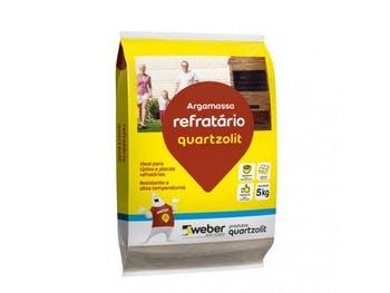 Argamassa para Refratário 5 Kg - Quartzolit - 0068.00001.0030FD - Unitário