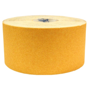 Rolo de lixa madeira G125 grão 50 - 120mmx45m - Norton - 69957365588 - Unitário