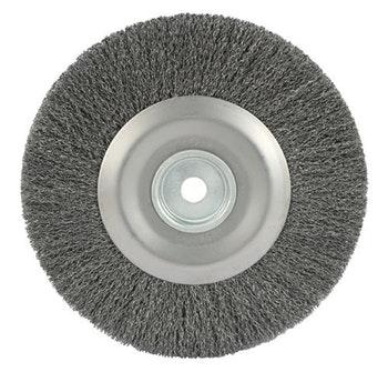 Escova Circular Ondulada F19 com Fio 0,40mm 3600RPM - Abrasfer - 7000-36 - Unitário