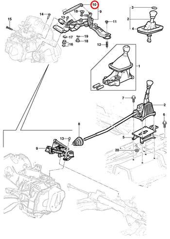 Liame do Trambulador - Original Chevrolet - 93375899 - Unitário