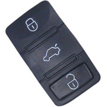 Capa do Telecomando 3 botões - Universal - 21694 - Unitário