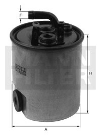 Filtro Blindado do Combustível - Mann-Filter - WK842/18 - Unitário