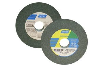 Rebolo metal duro FE 39 C 100 KVK - 152,4X19,0X31,75 - Norton - 66243464669 - Unitário