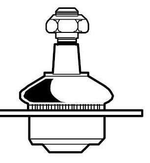 Pivô de Suspensão - MecPar - PV0834 - Unitário
