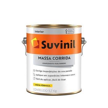 Massa Corrida PVA 5,7kg - Suvinil - 54014564 - Unitário