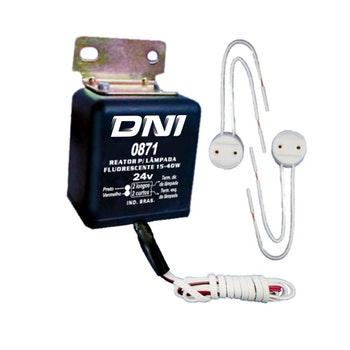 Reator Para Lampadas Fluorescentes - DNI - DNI 0871 - Unitário